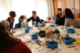 Kinderschminken workshop in Leipzig