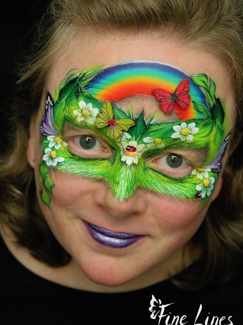 Spring mask