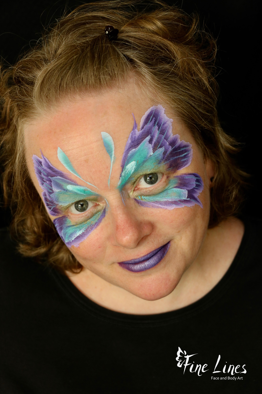 Lila Schmetterling
