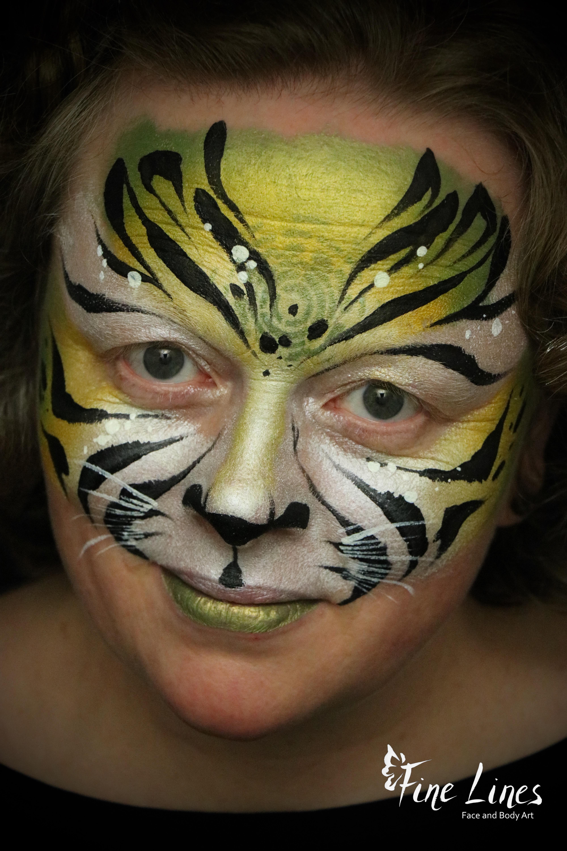 Tiger Kinderschminken Leipzig
