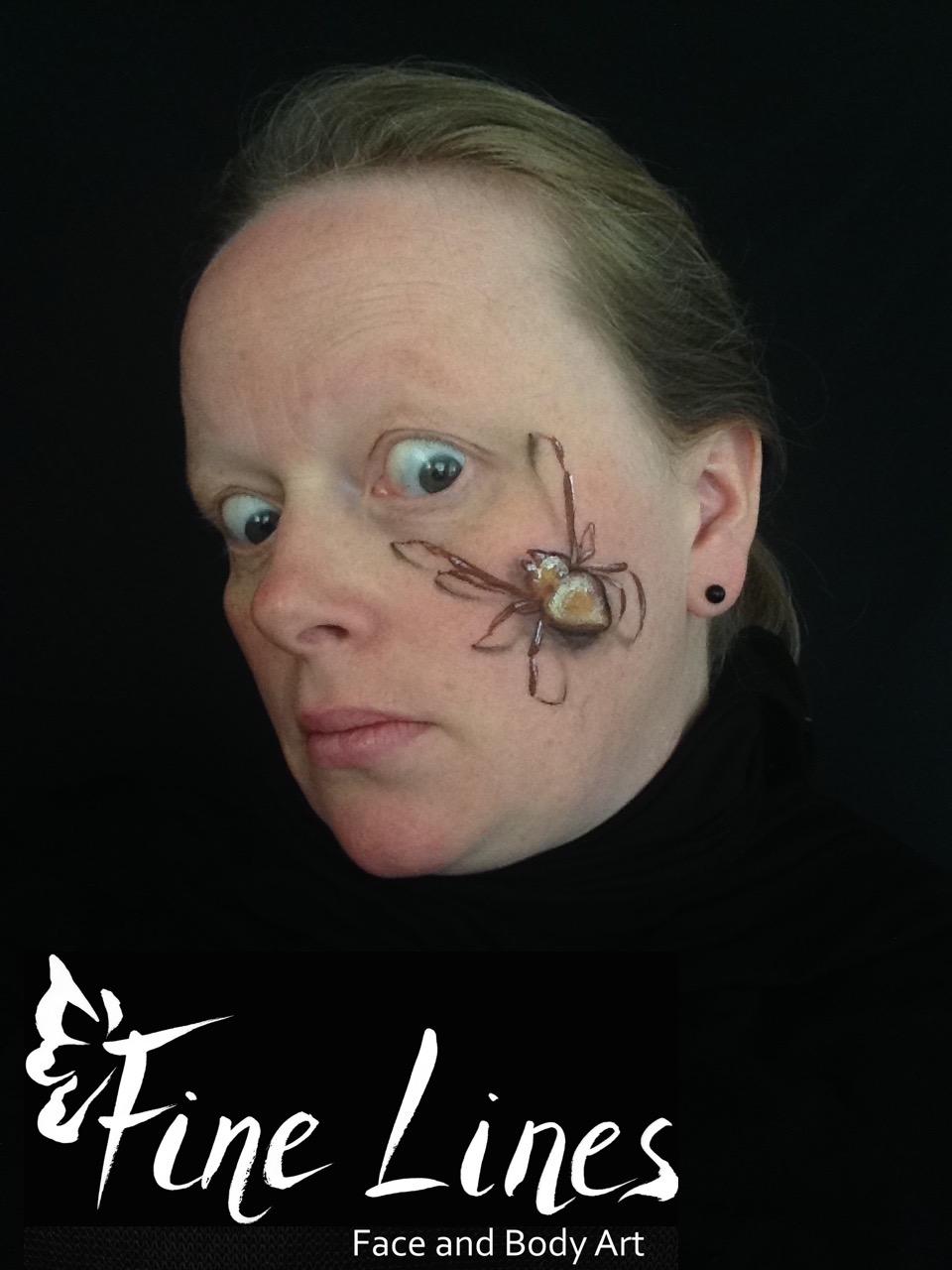 Spinne Kinderschminken Leipzig