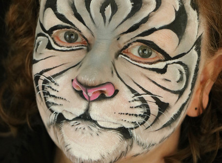 What has face painting got to do with archaeology??
