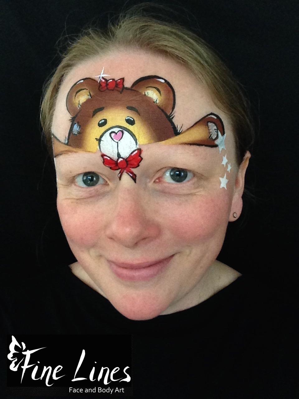 Teddybär Kinderschminken Leipzig