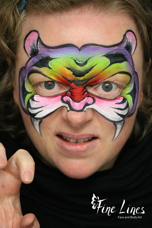 Regenbogen Tiger