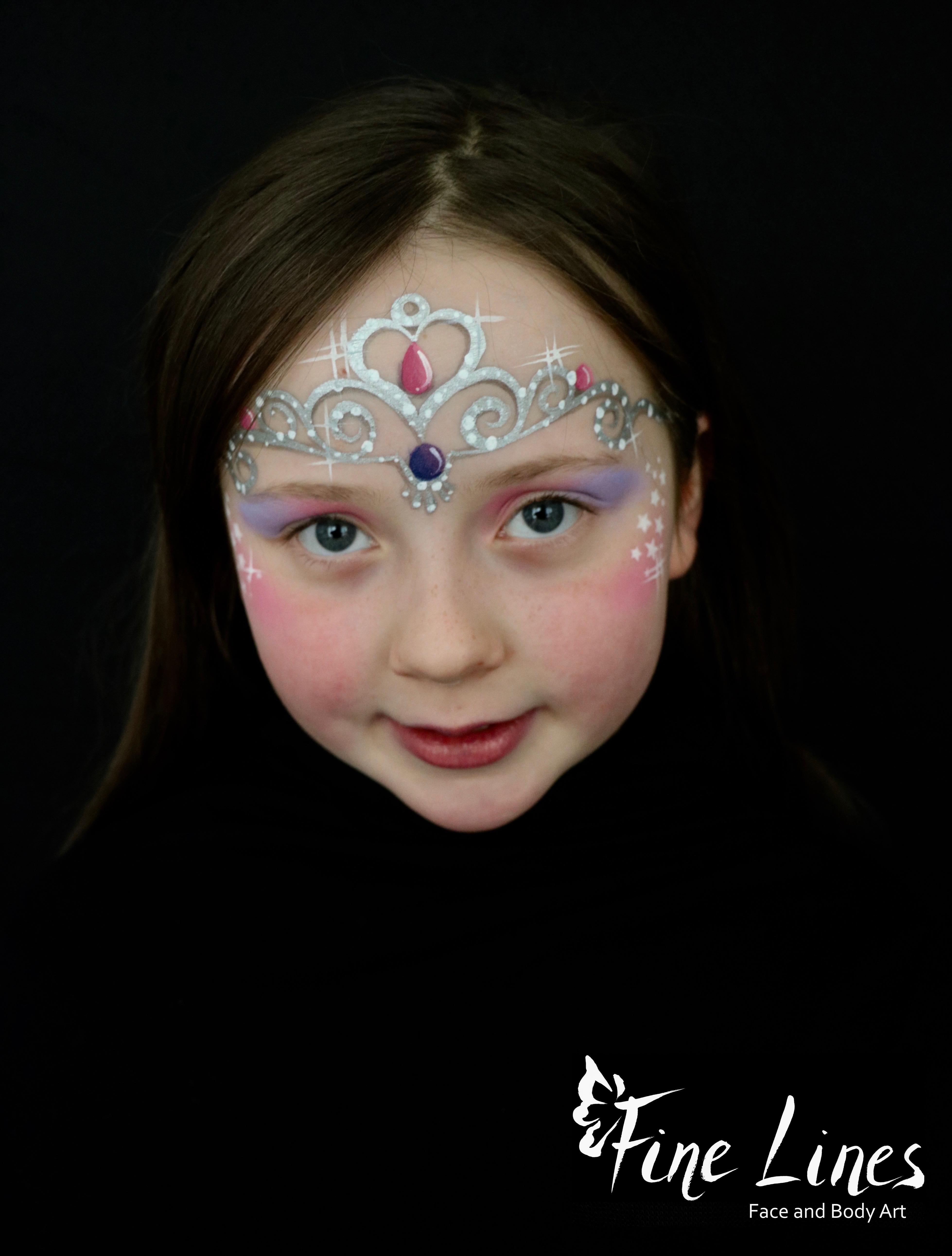 Prinzessin Kinderschminken