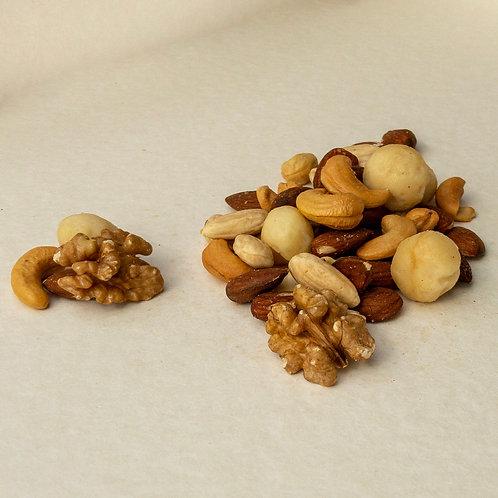 Macadamia mix geröstet ungesalzen 200 Gramm