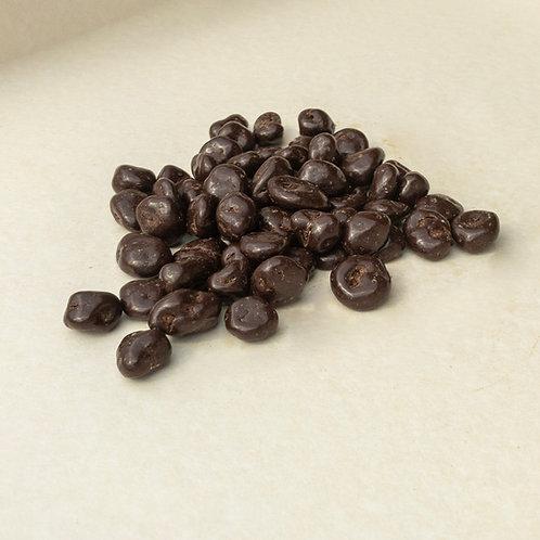 Rosinen in zartbitter Schokolade 200 Gramm