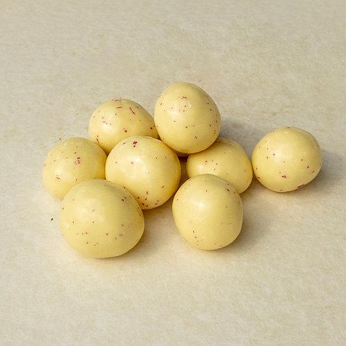 Himbeeren in Joghurtschokolade 200 Gramm
