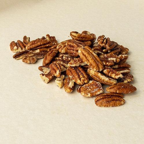 Pecannüsse geröstet mit Kräuter Knoblauch 100 Gramm