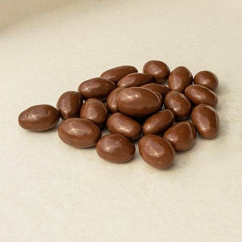 Mandeln in Milchschokolade 200 Gramm