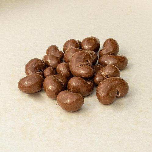 Cashews in zartbitter Schokolade 200 Gramm