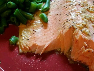 Perfectly Paired with our Pinocules     Steelhead Trout Bake with Dijon Mustard