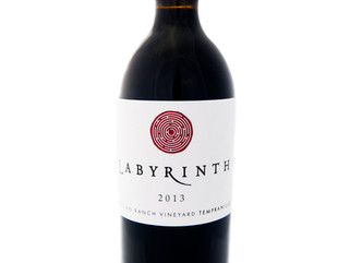 Wine of the Month - September  2013 Labyrinth Martian Ranch Vineyard Tempranillo