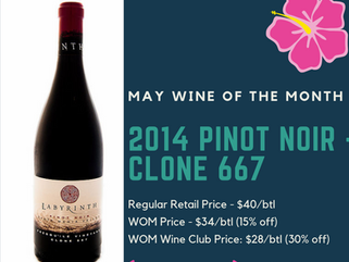 May Wine of the Month