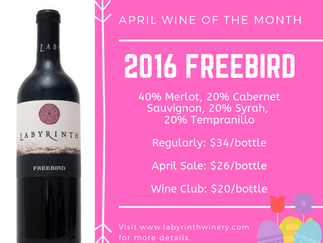 April Wine of the Month