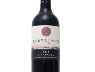 Wine of the Month - October                        '15 Labyrinth Zinfandel