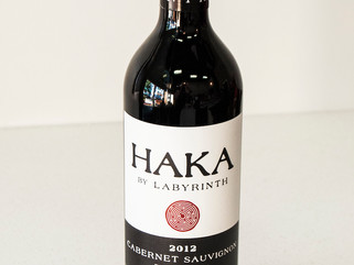 Wine of the Month - September  2012 HAKA Cabernet Sauvignon