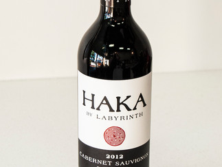 Wine of the Month - September  2012 HAKA Cabernet Sauvignon