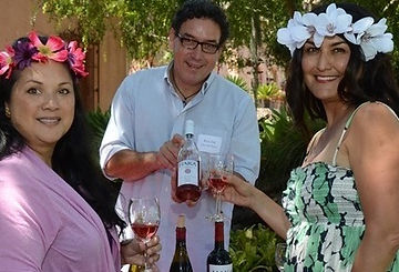 Winemaker Rick Hill at the Santa Barbara Lotus festival
