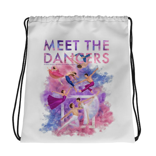 Drawstring bag MEET THE DANCERS