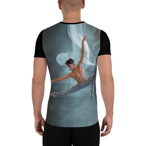 """Étoile Ballet Theatre """"Dancer pose"""" Men's Athletic T-shirt"""