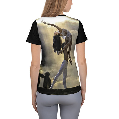 "Étoile Ballet Theatre ""Romeo and Juliet"" Women's Athletic T-shirt"
