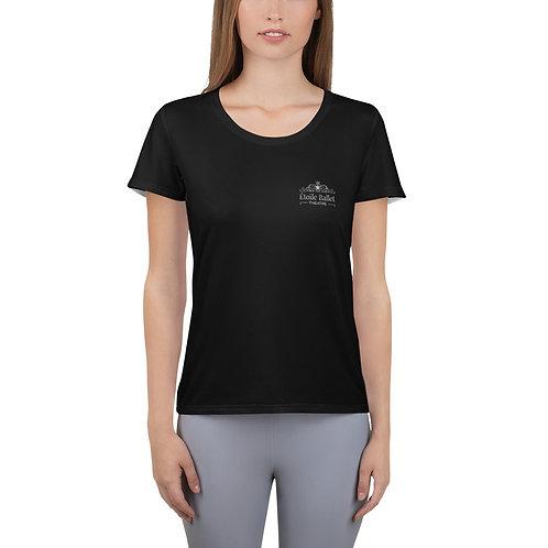 "Étoile Ballet Theatre ""Silver logo only"" Women's Athletic T-shirt"