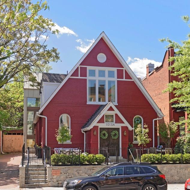 Little Red Chapel :: Washington, DC
