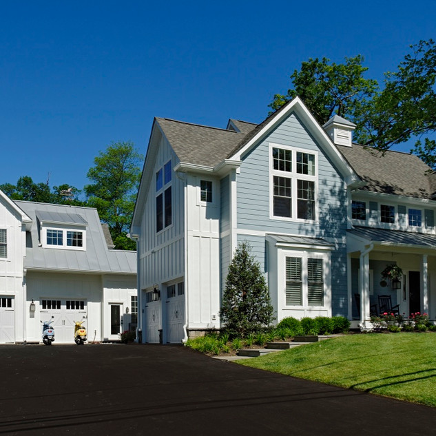 Custom Home :: MacArthur Blvd