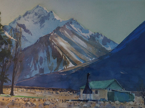 Black Mountain Hut, Mesopotamia – Ben Woollcombe