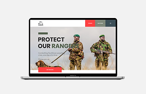 website portfolio for rangers website