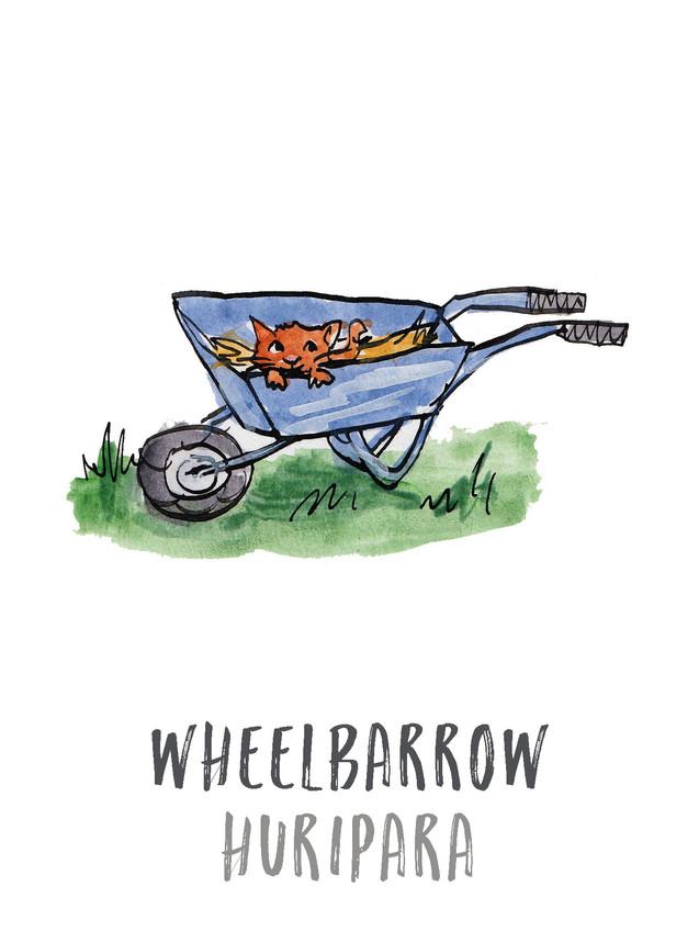 Wheelbarrow / Huripaka