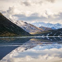A frozen Lake Ida