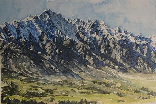 Mountains – Wonhee Dueart