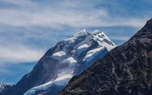Aoraki Mount Cook Peaking through 2019 T