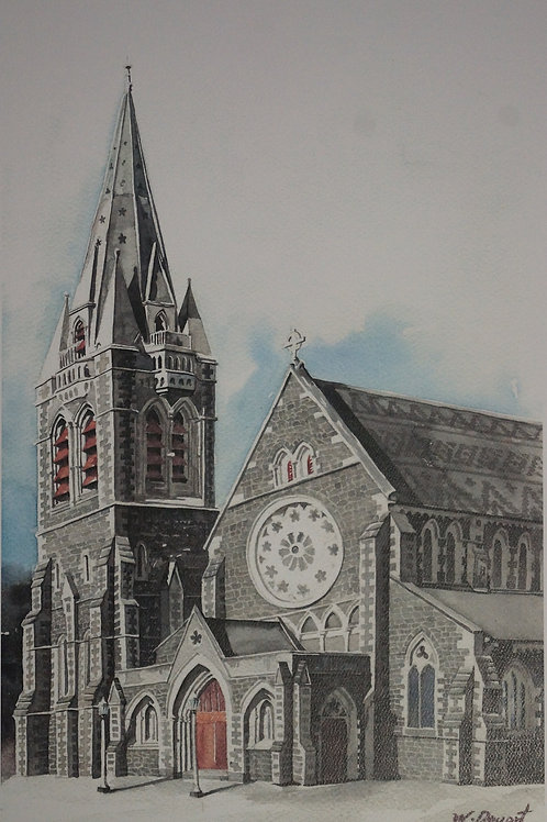 Christchurch Cathedral – Wonhee Dueart