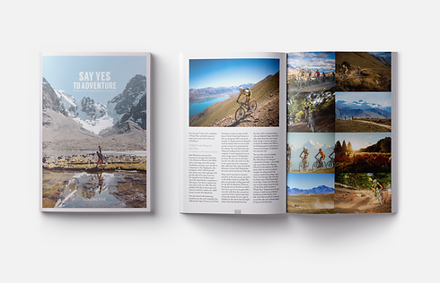 website portfolio adventure magazine