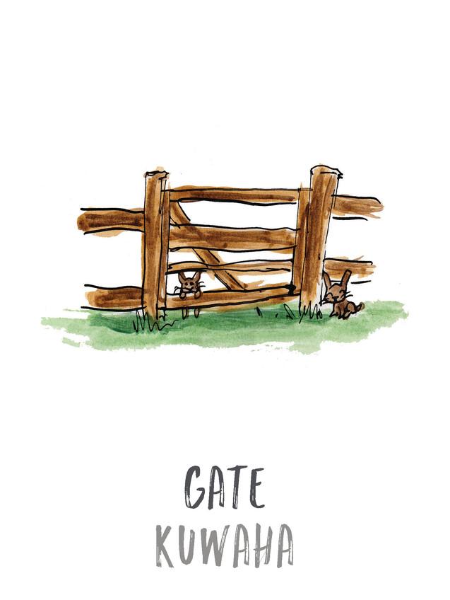 Gate / Kuwaha