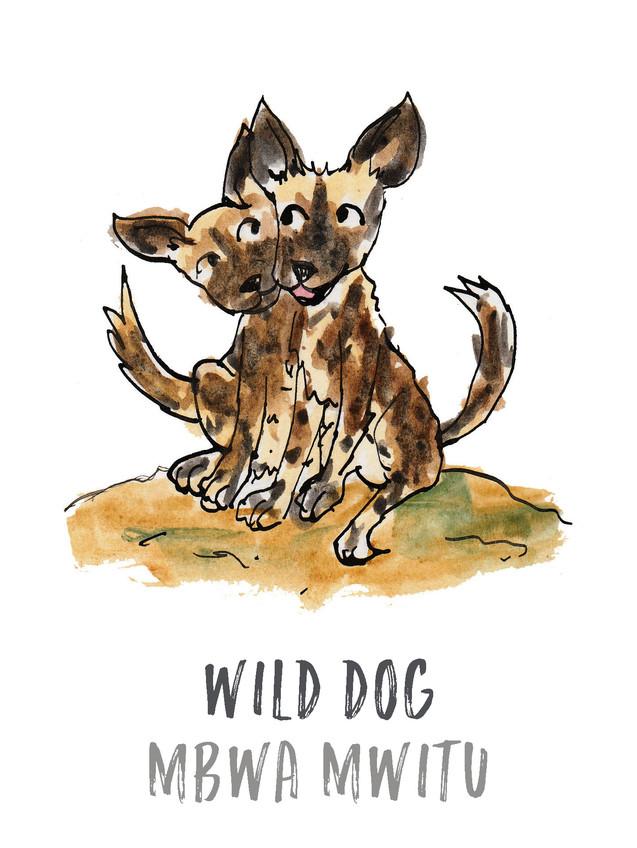 Wild Dog / Mbwa Mwitu