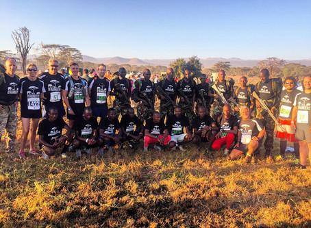 Running the Lewa Marathon