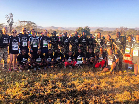 Running the Lewa Marathon