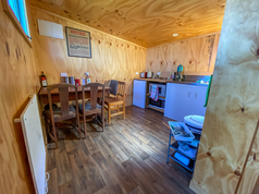 Communal kitchen and living space