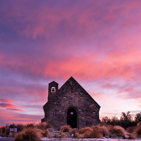 New Zealand's most iconic church