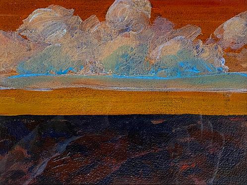 End of day, Canterbury Plains – Michael Eaton