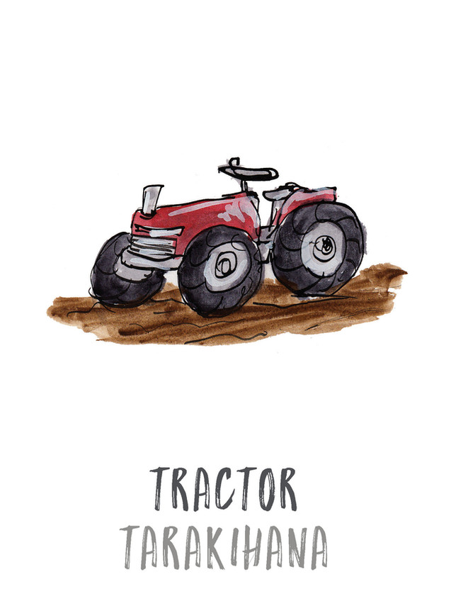 Tractor / Tarakihana