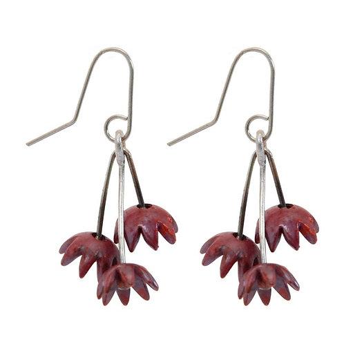 Copper Dewdrop Earrings – Stone Arrow