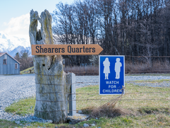 Directions to Shearers Quarters
