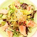 Quinoa Salad with Seared Salmon
