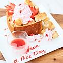 Strawberry Brick Toast
