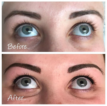 Combination brows and Liner